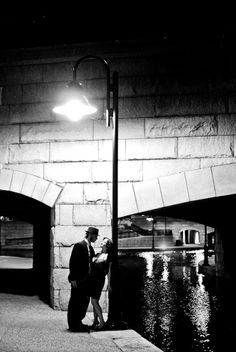 IYQ Photography: Film Noir Engagement Shoot: Ena and Michael
