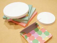 Paper circles  FREE SHIPPING  20 handmade by BurntCarmine on Etsy