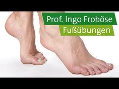5 Fußübungen - Prof. Ingo Froböse - YouTube