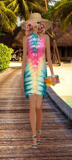 """Covet Fashion Game The event is """"Rainbow"""" This is the look i created. Fellow Coveters please respect me and don't steal my ideas. Be Original."""