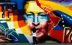 Photo of the Day: Mural of the Late Hugo Chavez in Venezuela