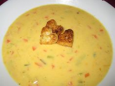 Cheddar Beer Soup - really filling, but very nice - try 1 onion & 1 leek (instead of 2 leeks) if you don't want it so sweet