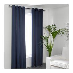 """$30 for Master MERETE Curtains, 1 pair - 57x98 """" - IKEA"""