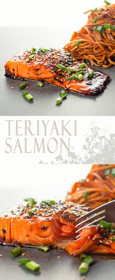Teriyaki Salmon @krumplibrian