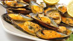 Deliciosa receta de pescados y mariscos. Mejillones a la marinera. Cómo hacer…