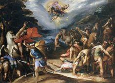 Saint Paul On The Road To Damascus by Hans Speckaert (circa 1570 and 1577)Hans Speckaert/ Louvre Museum