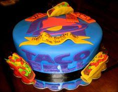 Cake Cookies, Cupcake Cakes, Cupcakes, Taco Bell Wedding, 16th Birthday, Birthday Cakes, Birthday Parties, Photo Frame Prop, Taco Party