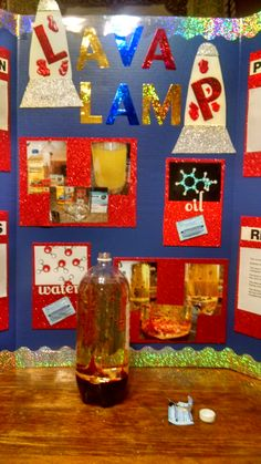 lava lamp science project