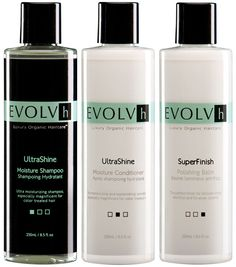 Get organic-chic for a super-natural shine. Try the latest in Luxury Organic Haircare. #Evolvh