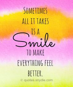 35+ Smile Quotes and Sayings with pictures