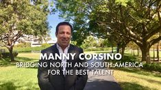 Why I built a career in Executive Search - Manny Corsino - Caldwell Part...