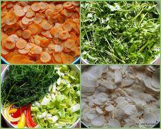 warzywa-i-ziola-do-ususzenia Seaweed Salad, Cooking Recipes, Ethnic Recipes, Food, Chef Recipes, Essen, Meals, Yemek, Eten
