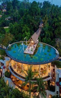 Four Seasons Resort Bali At Sayan has been recognized as one of the world's be. - Four Seasons Resort Bali At Sayan has been recognized as one of the world's best resorts on the C - Vacation Places, Dream Vacations, Amazing Architecture, Architecture Design, Futuristic Architecture, Resorts, Resort Bali, City Resort, Luxury Homes Dream Houses