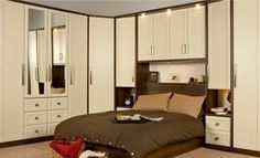 Luxury Over Bed Fitted Bedroom Design