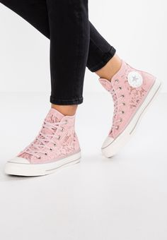 a45938f26808 Converse CHUCK TAYLOR ALL STAR - Höga sneakers - peach skin white mouse -