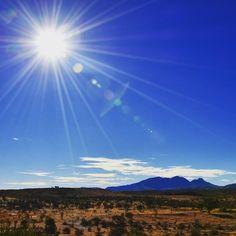 Stunning Mt Sonder near #AliceSprings. Marking the end of the Larapinta Trail. Pic: @jb_today (IG) #NTaustralia