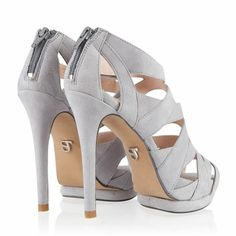 SuperTrash Grey High Heels