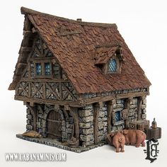 Tabletop World Town House
