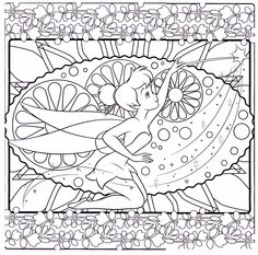 91 Best TINKERBELL COLORING PAGES Images On Pinterest In 2018