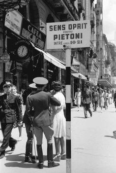 "Old Bucharest ""Little Paris"" part 2 – Romania Dacia Old Pictures, Old Photos, Romania People, Romanian Revolution, New York City Buildings, Nostalgia, Romania Travel, Little Paris, City People"
