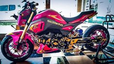 2017 Honda Grom / MSX Lowered & Stretched Motorcycle Pictures at www.HondaProKevin.com