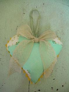 Vintage Linens Heart by lesliejanson on Etsy, $8.00