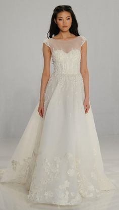 Os vestidos de noiva Tony Ward para Kleinfeld no NY Bridal Week   Casar.com