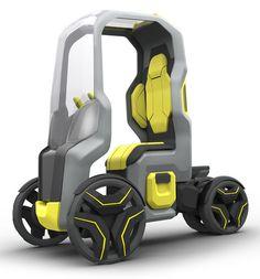 Follow Me mobility concept, future, vehicle, futuristic, car, auto, automobile, fantastic, urban transportation