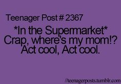 happened before. But I use it as an advantage to hit the junk food isle and sneak the treats into the shopping cart :D