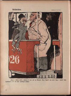 """Franz Wacik ; """"Die Muskete"""", 14 janvier 1909."""