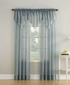 Lichtenberg No. 918 Crushed Sheer Voile Window Collection - Window Treatments - For The Home - Macy's