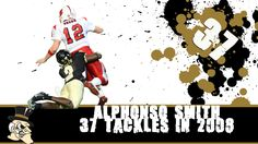 In 2008, Alphonso Smith made 37 tackles at Wake Forest helping him earn First Team All-American honors!  Go Deacs!