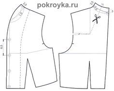 Mod@ en Linea. Learn how to alter a patterns for collars on jackets. (Site is in Russian)