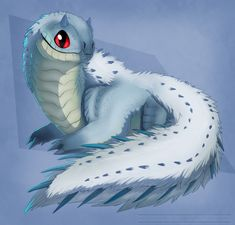 tobi-kadachi xeno'jiiva chibi dragon snake myart Monster Hunter monster hunter world mhw mhworld