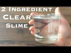 How To Make Crystal Clear Slime With 2 Ingredient!! Slime With Glue no borax - YouTube