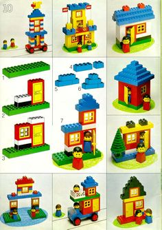 LEGO Instructions Building Ideas Book 226, Books