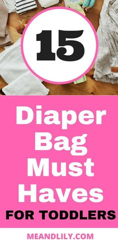 15 diaper bag must haves for moms with toddlers. Use this as your diaper bag checklist and never leave home without a toddler essential! Toddler Speech, Toddler Learning, Toddler Toys, Toddler Activities, Diaper Bag Checklist, Diaper Bag Essentials, Hospital Bag Checklist, Toddler Diaper Bag, Toddler Backpack