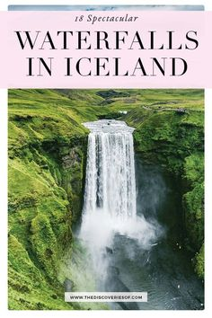 Iceland's waterfalls are an incredible sight to behold. Don't miss this guide to best waterfalls - complete with a handy Iceland waterfalls map. Iceland Travel Tips, Europe Travel Tips, European Travel, Places To Travel, Places To See, Travel Destinations, Iceland Waterfalls, Beautiful Places To Visit, Plan Your Trip