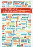 School Library Advocacy :: ASLA  100 things kids will miss if they don't have a librarian in their school