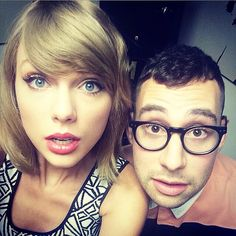 "taylorswift: "" Tomorrow, Jack Antonoff and I will be taking over MTV with wide-eyed wonderment. #TS1989 """