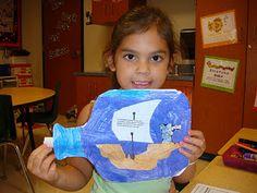 First Grade Sweeties: Busy Learning Lots! Kindergarten Social Studies, Teaching Social Studies, Classroom Crafts, Preschool Crafts, Preschool Ideas, Classroom Ideas, Explorers Unit, My Father's World, Columbus Day