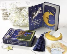 """Vintage Moon Bookmark in """"Over the Moon"""" Book Box"""