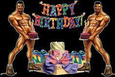 Chicos stripers con tartas y regalos: HappyBirthday - ツ Imagenes y Tarjetas para Felicitar en Cumpleaños ツ