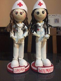 Creaciones Naxi: Fofuchas enfermeras