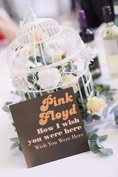 15 fab and unusual wedding table name ideas – Part 2