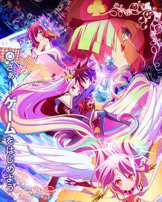 Secondo promo per l'anime No Game, No Life #anime