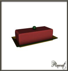 Pinecat's Brookhaven Butter Dish