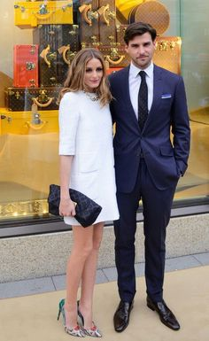 Olivia Palermo at Louis Vuitton Global Store Opening in Frankfurt