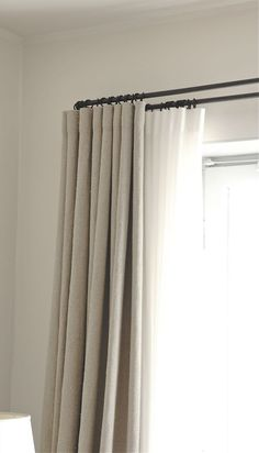 This kind of is truly an interesting design approach. This kind of is truly an interesting design approach. The post This kind of is truly an interesting design approach. appeared first on Vardagsrum Diy. Wave Curtains, Linen Curtains, Curtains With Blinds, Ceiling Curtains, Drapery, Layered Curtains, Double Curtains, Modern Curtains, Living Room Drapes