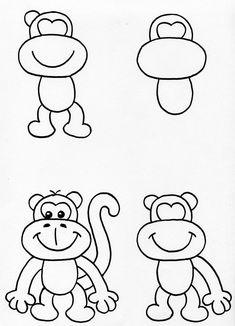 draw beginners step things easy cool drawing tutorials tutorial drawings cartoon simple craft lessons disney team